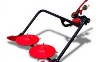 Роторная косилка для мотоблока салют