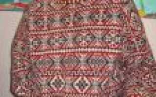 Жаккардовые узоры спицами — пошаговое описание схем-инструкций для начинающих