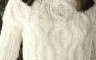 Английское вязание спицами — пошаговые схемы-инструкции для начинающих