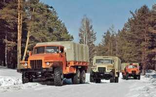 Урал 375 двигатель бензиновый