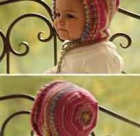 Чепчик для новорожденного спицами — подробное описание схемы вязания для начинающих