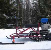 Чертежи снегохода из бензопилы урал
