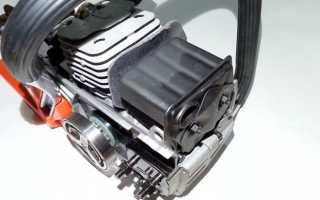 Как уменьшить шум бензопилы