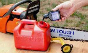 Stihl ms 180 масло и бензин