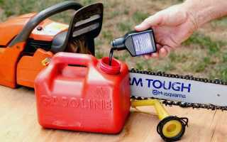 Норма масла в бензин для бензопилы